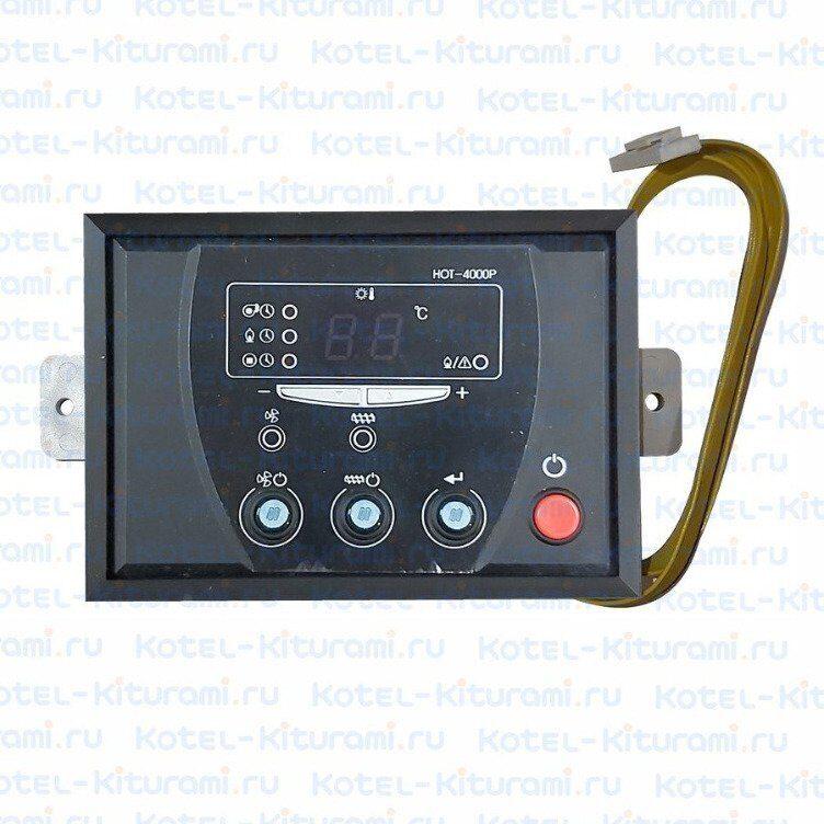 панель управления газовым котлом